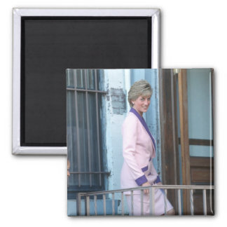 No.111 Princess Diana Washington D.C. 1990 Fridge Magnet