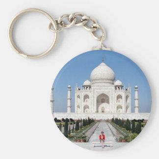 No.123 Princess Diana Taj Mahal 1992 Basic Round Button Key Ring