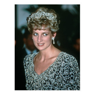 No.125 Princess Diana India 1992 Postcard