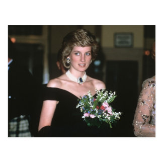 No.131 Princess Diana Vienna 1986 Postcard