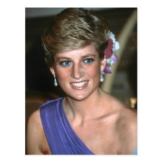 No.146 Princess Diana Thailand 1988 Postcard