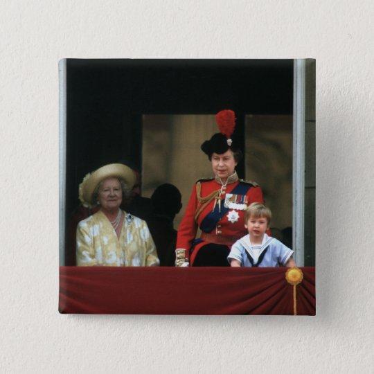 No.19 Prince William Buckingham Palace 1985 15 Cm Square Badge