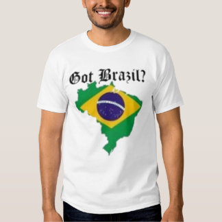 No 1 Brazillian Female T-Shirt(Got Brazil) Tees