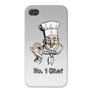 No. 1 Chef Cases For iPhone 4