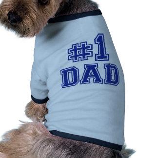 No.1 Dad Dog Clothing
