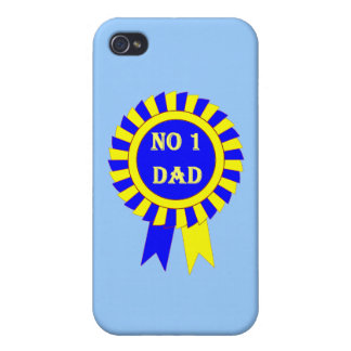 No 1 dad iPhone 4 cover