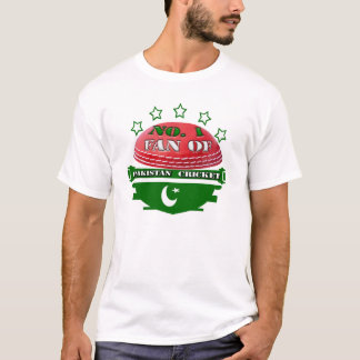 No. 1 Fan of Pakistan Cricket T Shirt