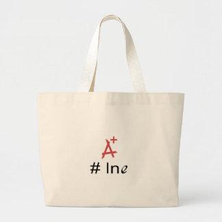 No 1 ln e _ graphic large tote bag