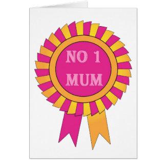 No 1 mum card