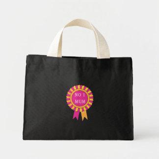 No 1 mum mini tote bag