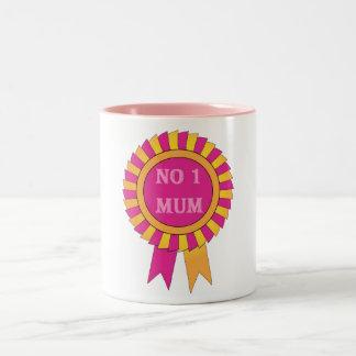 No 1 mum Two-Tone coffee mug