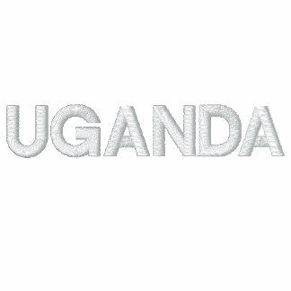 NO 1 UGANDA TRACKSUIT EMBROIDERED JACKET