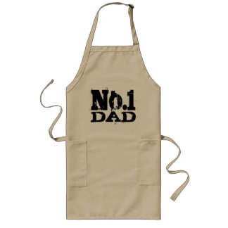 No. 1 World's best dad BBQ apron | Number One