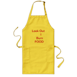 No 201 - Cooking Apron EX long Yellow MT