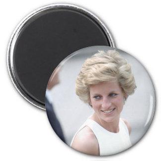 No.23 Princess Diana visits Budapest, Hungary 1990 Magnet