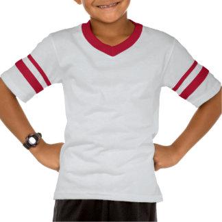 No.38 Kids Kids' Retro Striped Sleeve V-Neck T-shirts