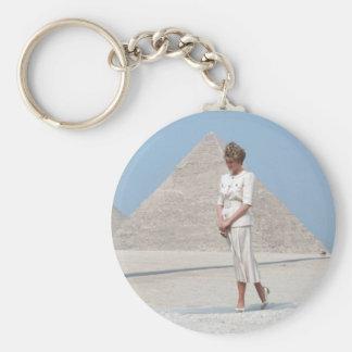 No.39 Princess Diana Egypt Key Chain