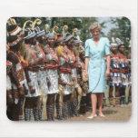 No.41 Princess Diana Cameroon 1990 Mouse Pad