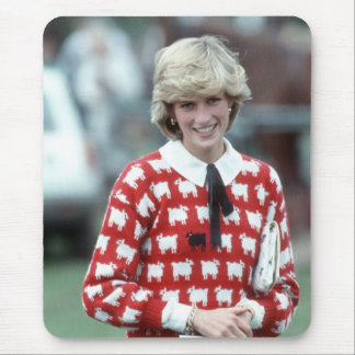 No.42 Princess Diana polo 1983 Mouse Mat