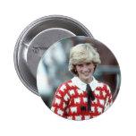 No.42 Princess Diana polo 1983 Pinback Buttons