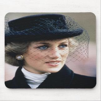 No.44 Princess Diana France 1988 Mousepad