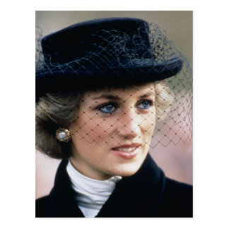 No.44 Princess Diana France 1988 Postcard