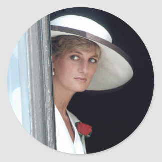 No.48 Princess Diana, Winchester, England 19 Round Sticker