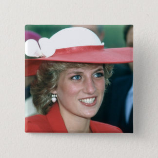 No.49 Princess Diana Sunderland 1985 15 Cm Square Badge