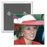 No.49 Princess Diana Sunderland 1985 15 Cm Square Badge