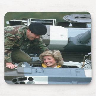 No.50 Princess Diana Germany 1985 Mouse Mat