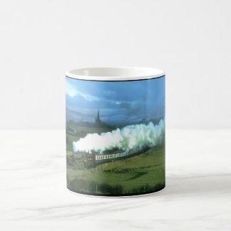 No 5305 catches a shaft of light_Steam Trains Coffee Mug