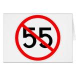 No 55 greeting card