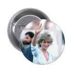 No.55 Princess Diana Florida USA 1985 Pin
