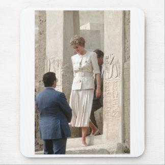 No.57 Princess Diana Egypt 1992 Mousepad