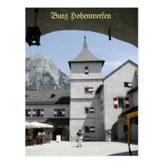 No.6 Burg Hohenwerfen Austria Postcard