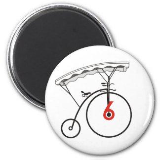 No. 6's Village Badge Magnet