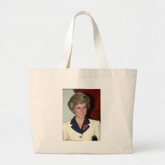 No.71 Princess Diana Hong Kong 1989 Large Tote Bag