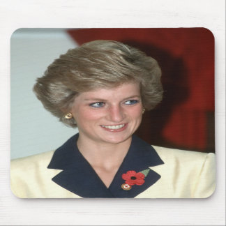 No.71 Princess Diana Hong Kong 1989 Mousepad
