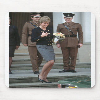 No.75 Princess Diana Guards Chapel 1991 Mousemat