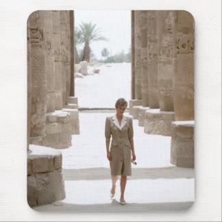 No.84 Princess Diana Luxor Egypt 1992 Mouse Pad