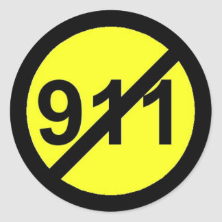 No 911 Stickers For Your VoIP Phones