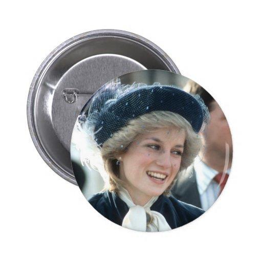 No.98 Princess Diana Wantage 1983 Pinback Buttons