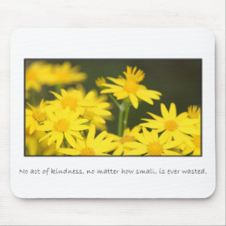 No act of kindness is ever wasted mouse pad