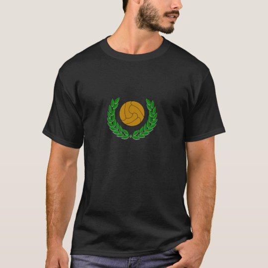 no al calcio moderno t-shirt