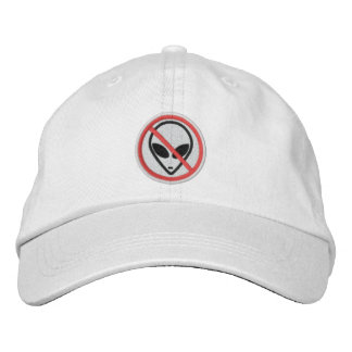 No Aliens Personalized Adjustable Hat Embroidered Hats