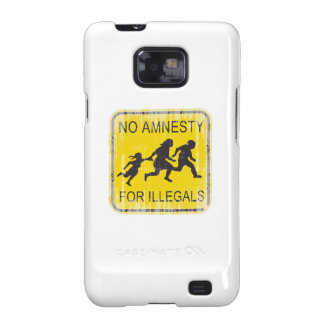 No Amnesty for illegals Faded.png Samsung Galaxy SII Cases