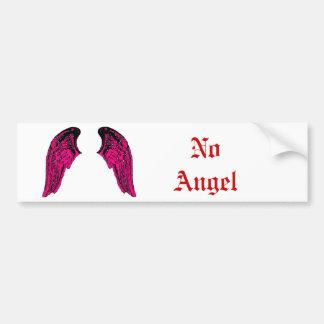 no angel bumper sticker