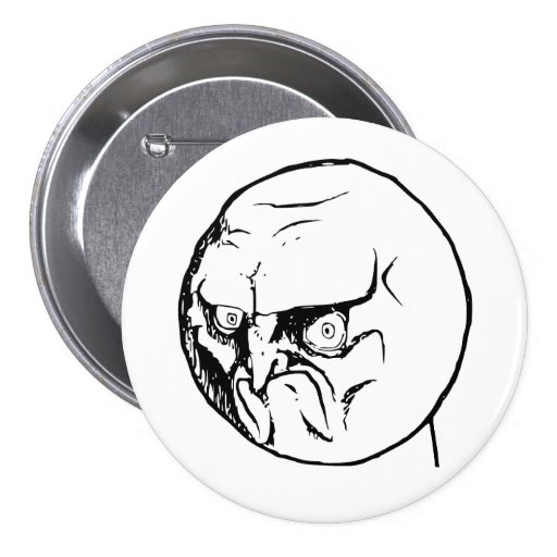 No Angry Rage Face Rageface Meme Comic Pins