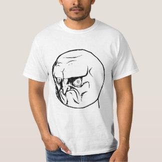 No Angry Rage Face Rageface Meme Comic Shirts