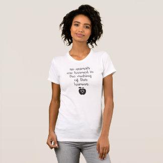 No animals are harmed tee shirts